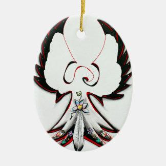 Ornamento De Cerâmica Anishinaabe Thunderbird