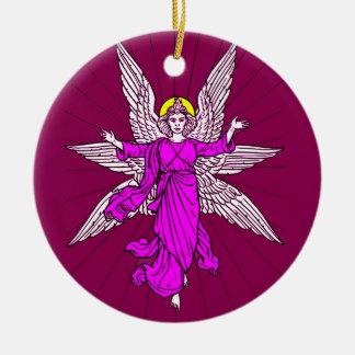 Ornamento De Cerâmica Anjo
