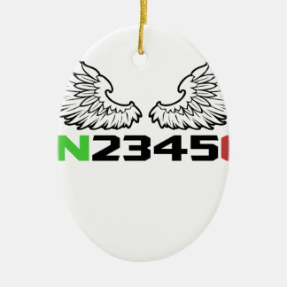 Ornamento De Cerâmica anjo 1N23456