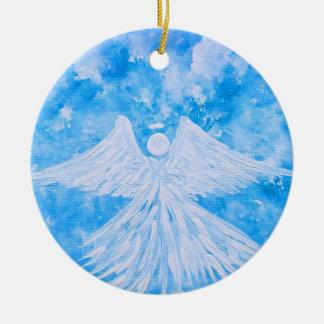 Ornamento De Cerâmica Anjo do céu