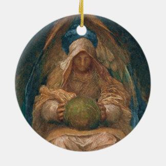 Ornamento De Cerâmica Anjo do espírito Pervading