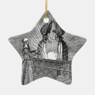 Ornamento De Cerâmica Anjos sobre a arca da obrigação contratual