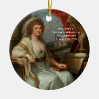 Ornamento De Cerâmica Anna Amalia de Brunsvique-Wolfenbuttel 1788