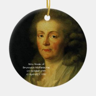 Ornamento De Cerâmica Anna Amalia de Brunsvique-Wolfenbuttel 1795