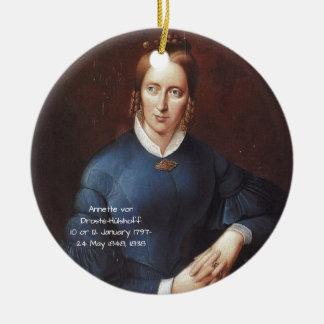 Ornamento De Cerâmica Annette von Droste-Hulshoff 1838
