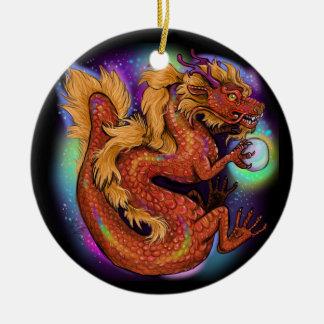 Ornamento De Cerâmica Ano chinês do zodíaco do dragão