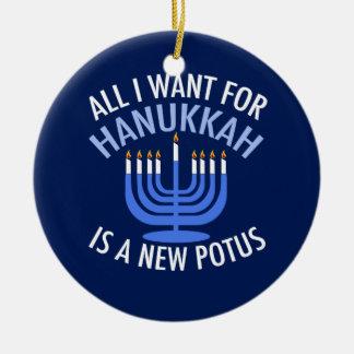 Ornamento De Cerâmica Anti trunfo Hanukkah