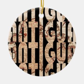 Ornamento De Cerâmica antigua1794