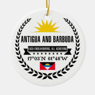 Ornamento De Cerâmica Antígua e Barbuda