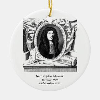 Ornamento De Cerâmica Anton Cajetan Adlgasser