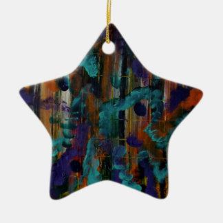 Ornamento De Cerâmica Ao ouvir um som