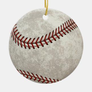 Ornamento De Cerâmica Após-tempo do americano do jogo de basebol