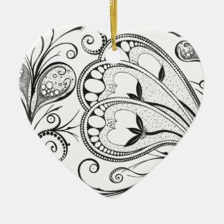"""Ornamento De Cerâmica """"Aquaphyte """""""