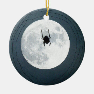 Ornamento De Cerâmica Aranha da lua