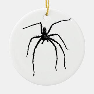 Ornamento De Cerâmica Aranha grande assustador o Dia das Bruxas