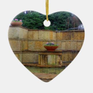 Ornamento De Cerâmica Arboreto de Dallas e entrada dos jardins botânicos