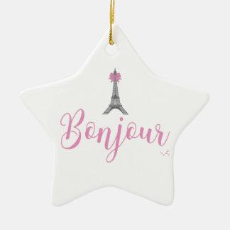 Ornamento De Cerâmica Arco da torre de Bonjour-Eiffel original