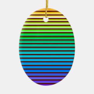 Ornamento De Cerâmica arco-íris do fundo v