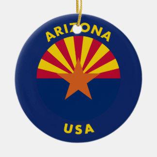 Ornamento De Cerâmica Arizona EUA