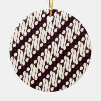 Ornamento De Cerâmica arjuna 03 do batik