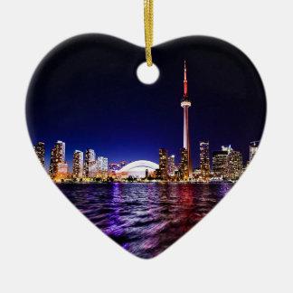 Ornamento De Cerâmica Arquitectura da cidade do centro de Toronto Canadá