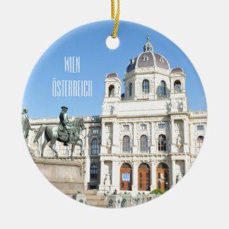 Ornamento De Cerâmica Arquitetura em Viena, Áustria