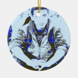 Ornamento De Cerâmica Arte 3 do soldado 3 de YPG