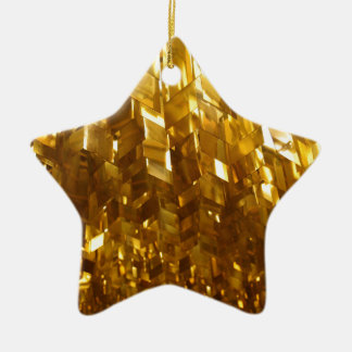 Ornamento De Cerâmica Arte abstracta do teto do ouro