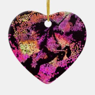 Ornamento De Cerâmica Arte abstracta mágica do unicórnio da fantasia