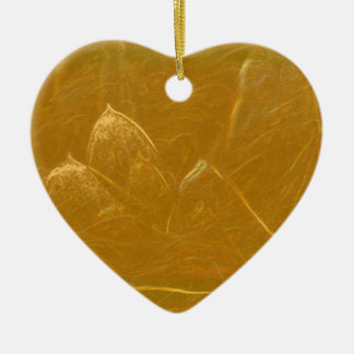 Ornamento De Cerâmica Arte artística DOURADA da folha de ouro de LOTUS