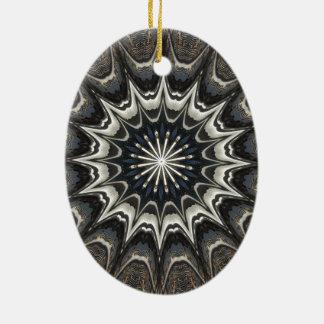 Ornamento De Cerâmica Arte branca azul cinzenta do preto do design do