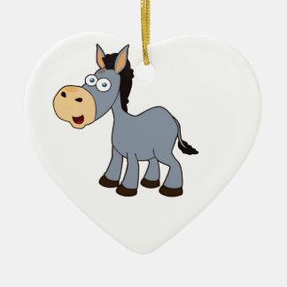 Ornamento De Cerâmica arte cinzenta do cavalo