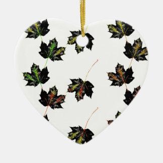 Ornamento De Cerâmica Arte da folha