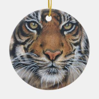 Ornamento De Cerâmica Arte do animal dos animais selvagens do tigre