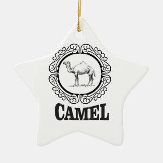 Ornamento De Cerâmica arte do logotipo do camelo