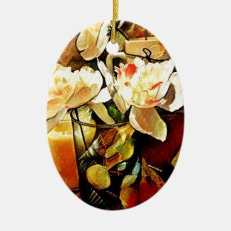 Ornamento De Cerâmica Arte moderna floral