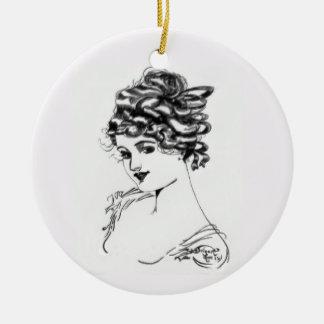 Ornamento De Cerâmica Arte Nouveau 1917