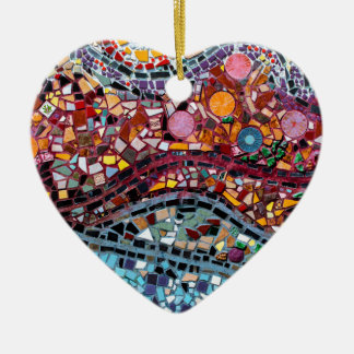 Ornamento De Cerâmica Arte vibrante da parede do mosaico