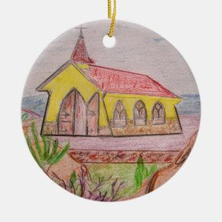 Ornamento De Cerâmica Aruba