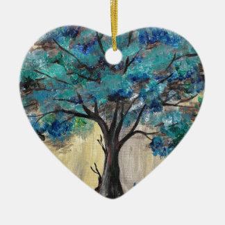 Ornamento De Cerâmica Árvore da cerceta