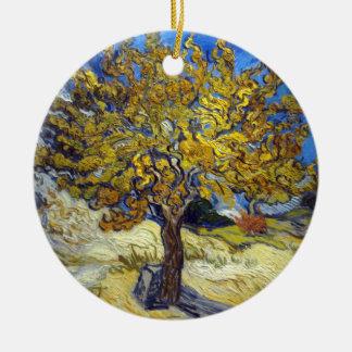 Ornamento De Cerâmica Árvore de Mulberry de Vincent van Gogh