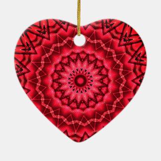 Ornamento De Cerâmica Árvore de Natal do caleidoscópio
