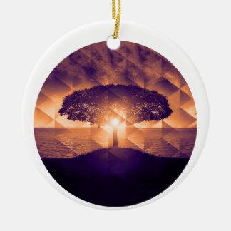 Ornamento De Cerâmica Árvore de vida