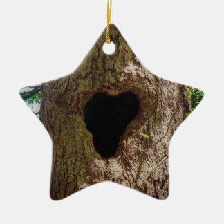 Ornamento De Cerâmica Árvore do coração