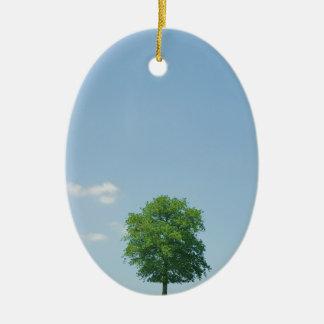 Ornamento De Cerâmica Árvore em um campo 2