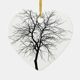 Ornamento De Cerâmica Árvore magro