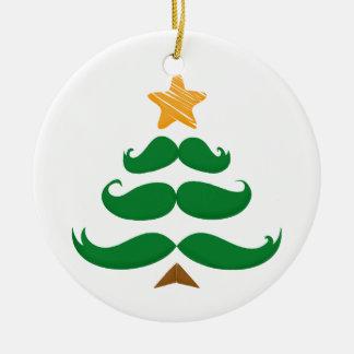 Ornamento De Cerâmica Árvore verde do bigode