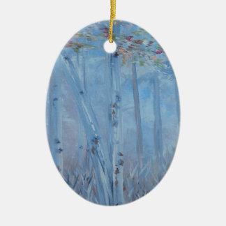 Ornamento De Cerâmica Árvores altas e bonitas