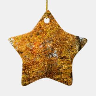 Ornamento De Cerâmica Árvores da queda