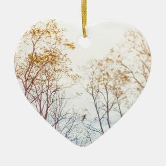 Ornamento De Cerâmica Árvores do inverno
